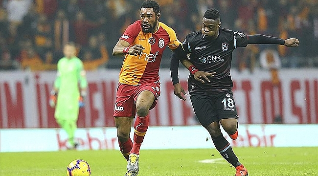Süper Lig'de zorlu maç: Trabzonspor - Galatasaray
