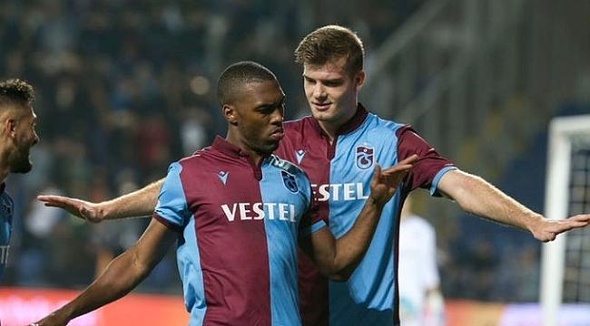 Trabzonspor Antalya'dan galibiyetle dönüyor