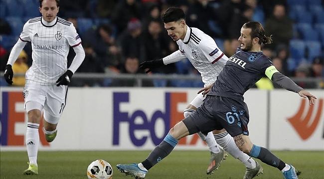 Trabzonspor Basel'e 2-0 mağlup oldu