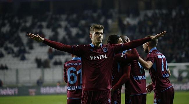 Trabzonspor Konya'da Sörloth'la kazandı