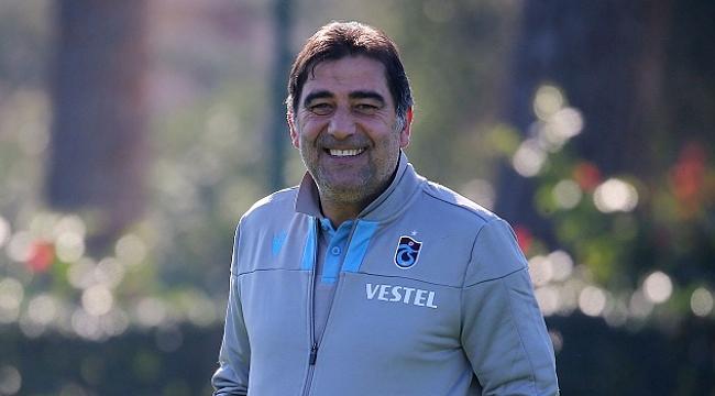 Trabzonspor Ünal Karaman ile gülüyor