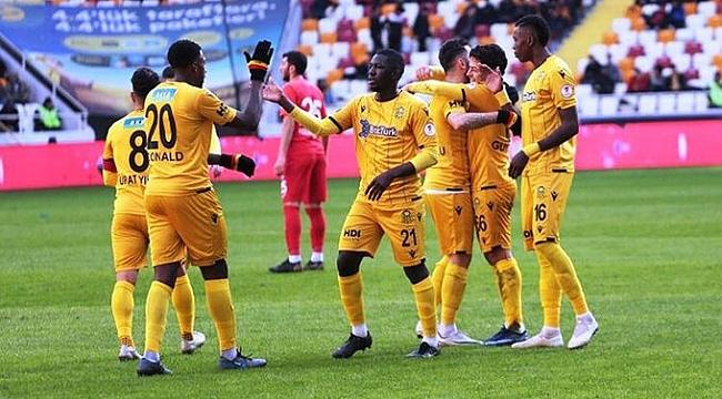 Yeni Malatyaspor Keçiörengücü'nü 3-1'le geçti