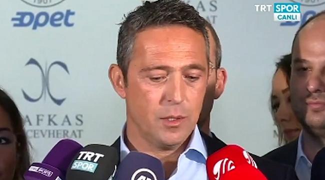 Ali Koç: Solbeke oyuncu alacağız ama...