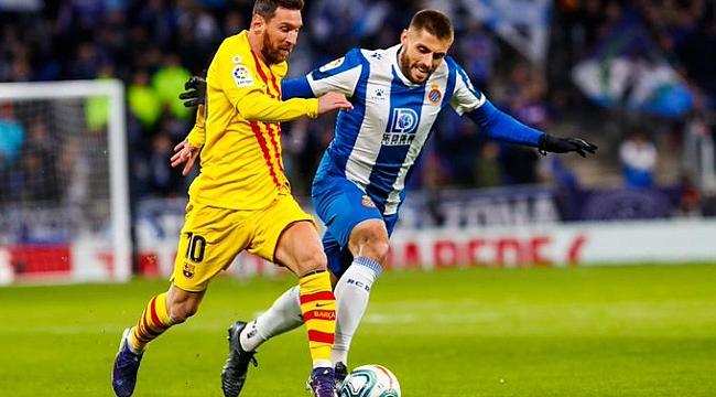 Barcelona iki puan kaybetti ama liderliğini korudu