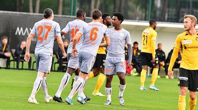 Başakşehir hazırlık maçında Young Boys'u 3-1 yendi