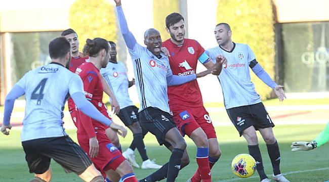 Beşiktaş Altınordu'yla yenişemedi