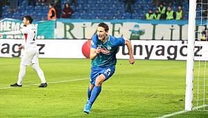 Çaykur Rizespor Milan Skoda ile kazandı