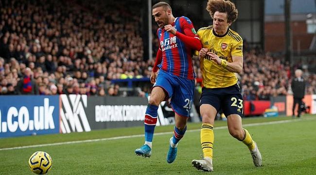 Cenk Tosun'lu Crystal Palace Arsenal'le berabere kaldı