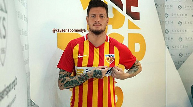 Diego Angelo Kayserispor'da