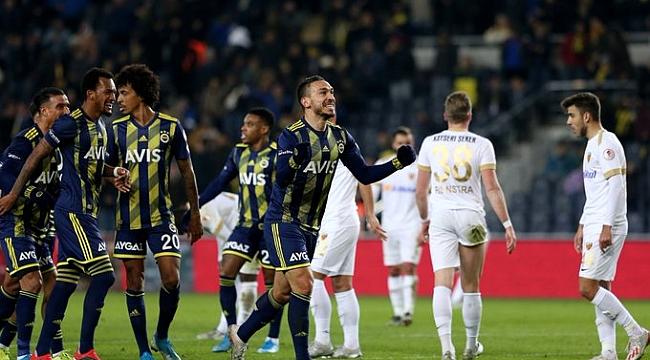 Fenerbahçe 2-0'la çeyrek finalde
