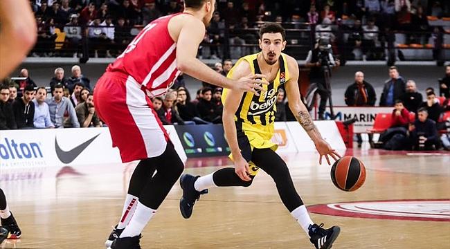 Fenerbahçe Beko Olympiakos deplasmanında ayağa kalktı