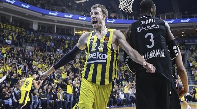 Fenerbahçe Beko ASVEL'i farklı mağlup etti