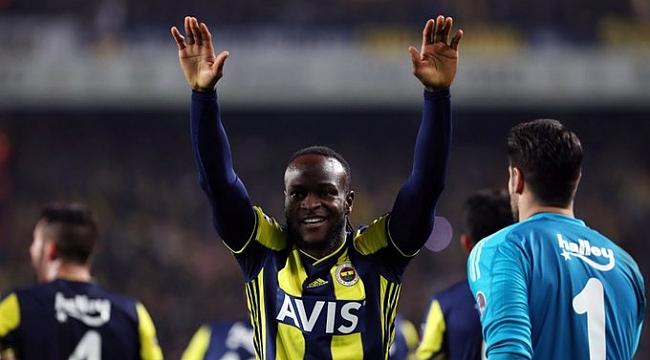 Fenerbahçe'de Victor Moses'ın sözleşmesi fesehildi