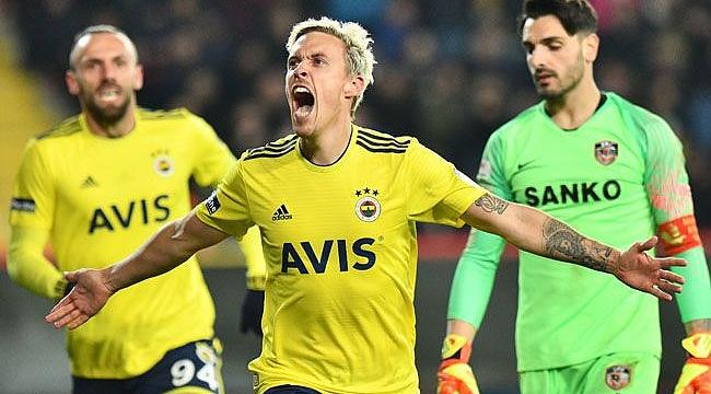 Fenerbahçe Gaziantep'te golcüleriyle kazandı
