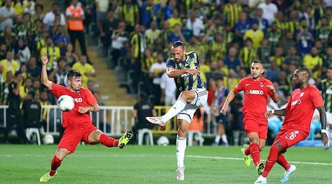 Fenerbahçe ikinci yarıya Gaziantep deplasmanında başlıyor