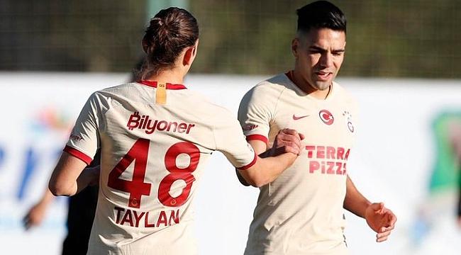 Galatasaray yeni transferleriyle ilk maçında Altay'ı 3-1 mağlup etti