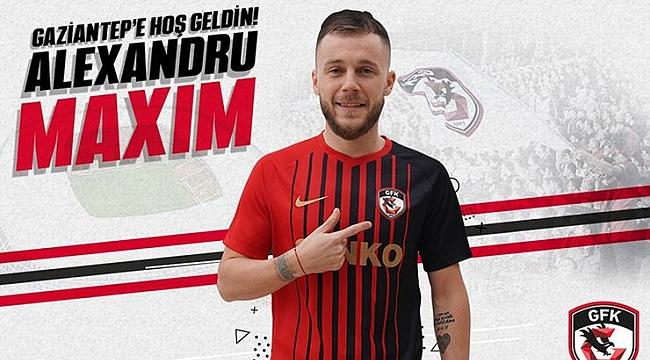 Gaziantep FK Alexandru Maxim'i kadrosuna kattı