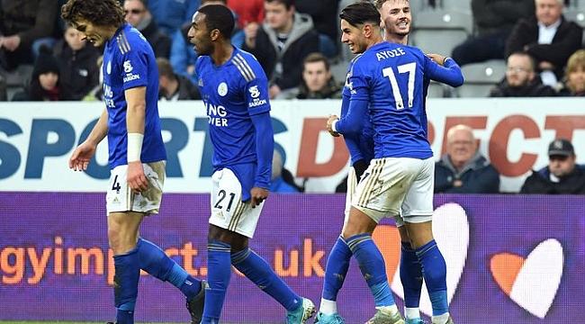Leicester City kendine geldi