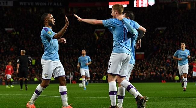 Manchester derbisini City kazandı final için avantajı yakaladı