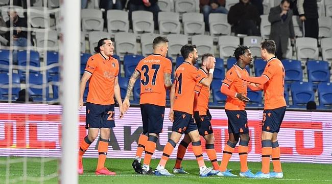 Medipol Başakşehir'den son 5 maçta 4. galibiyet