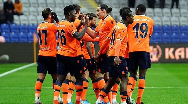 Medipol Başakşehir Yeni Malatyaspor'u farklı yendi