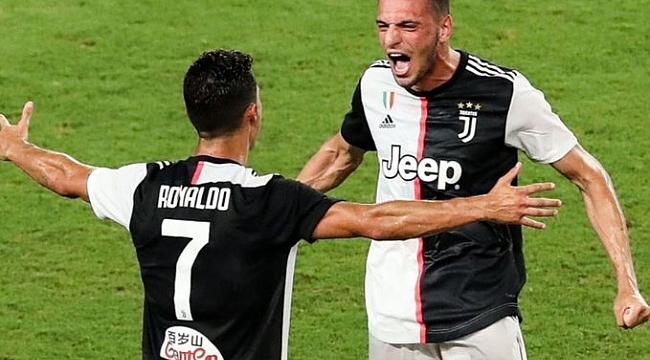 Merih'li Juventus Ronaldo'nun hat-trick'iyle kazandı