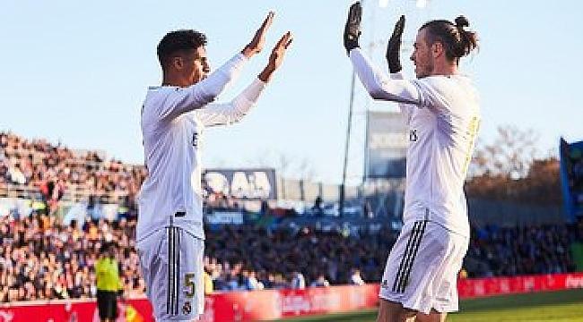 Real Madrid Getafe deplasmanından 3 gol ve 3 puanla dönüyor