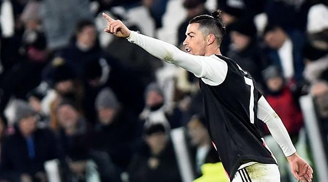 Ronaldo atıyor Juventus kazanıyor