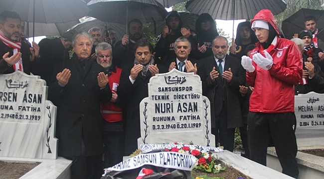 Samsunspor Camiası trajik kazada vefat edenleri unutmadı