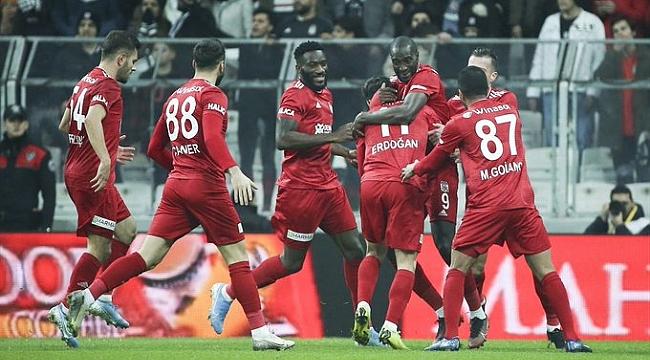 Sivasspor Beşiktaş engelini de aştı