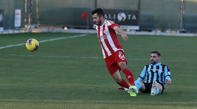 Sivasspor Waldhof Mannheim ile 2-2 berabere kaldı
