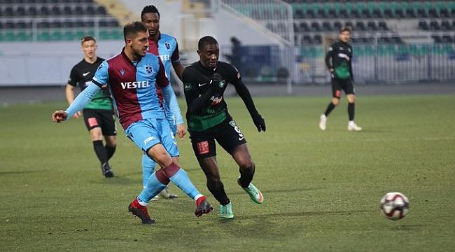 Trabzonspor Denizlispor'u penaltılarla eledi