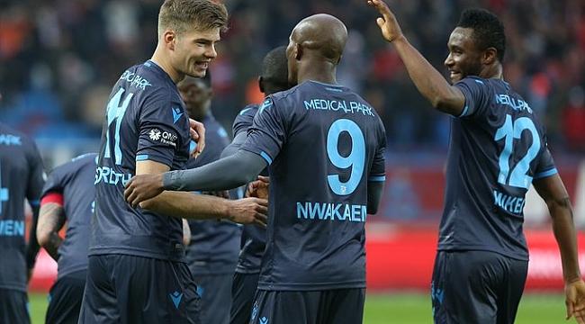 Trabzonspor Kasımpaşa'ya gol yağdırdı