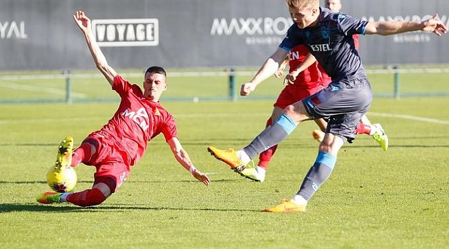 Trabzonspor Partizani Tiran'ı Sörloth'la geçti