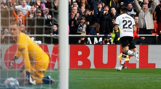 Valencia Barcelona'yı Maxi Gomez ile devirdi