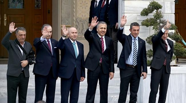 Başkanlar'ın toplantısı sona erdi