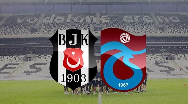 Beşiktaş Trabzonspor'u konuk ediyor