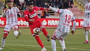 Boluspor Balıkesirspor'la yenişmedi