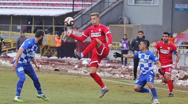 Boluspor'la Erzurumspor puanları paylaştı