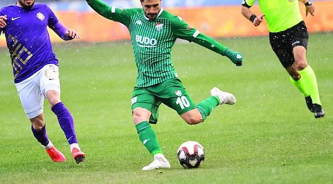 Bursaspor Ankara'da 4 golle kazandı