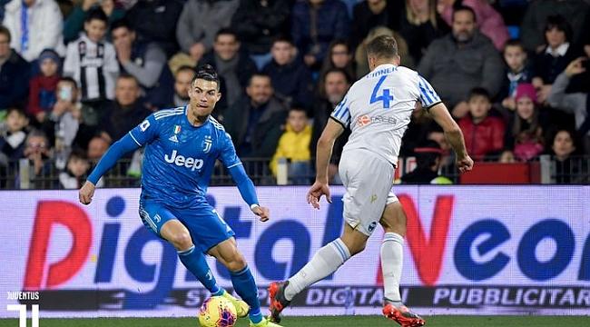 Cristiano Ronaldo bininci maçında da golünü attı
