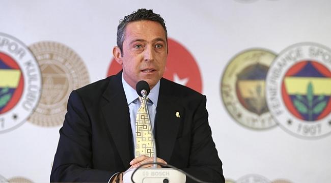 Fenerbahçe Başkanı Ali Koç'tan açıklamalar