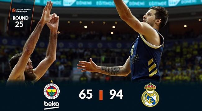 Fenerbahçe Beko Real Madrid'e farklı mağlup oldu