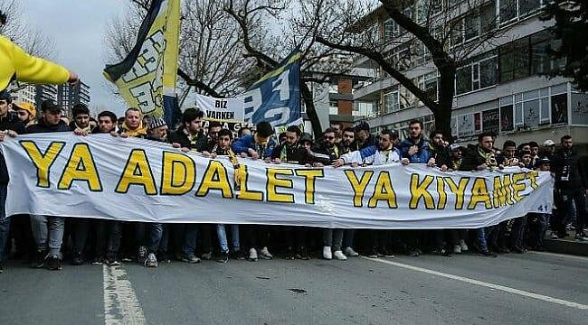 Fenerbahçe taraftarı Riva'ya yürüdü