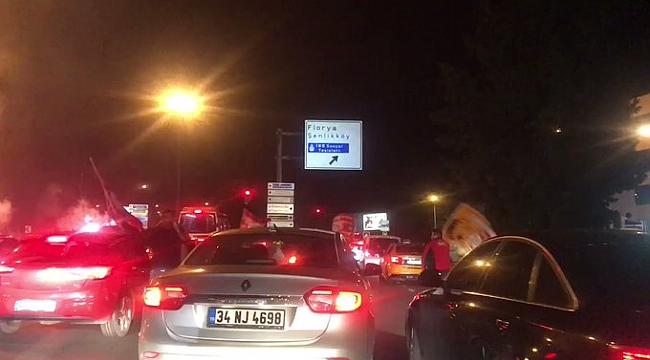 Galatasaray'da büyük sevinç
