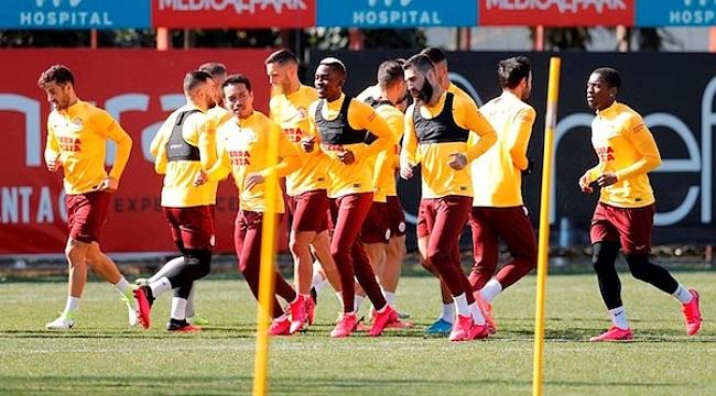 Galatasaray'da Belhanda dışında değişiklik yok