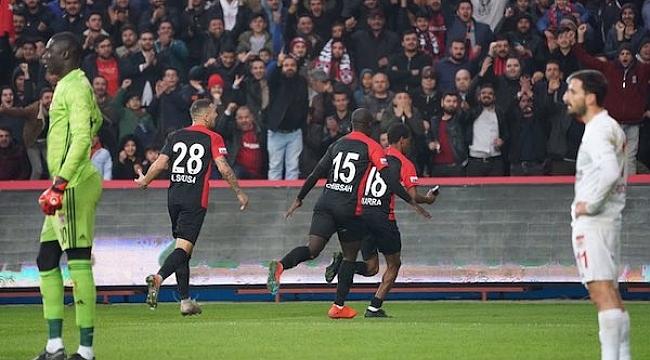 Gaziantep'ten Sivas'a gol yağmuru