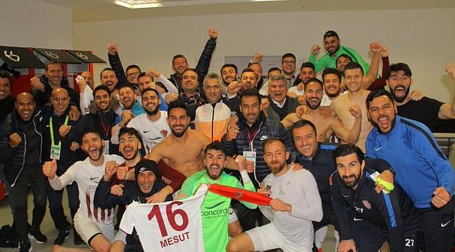 Hatayspor Eskişehir'den 3 puanla dönüyor