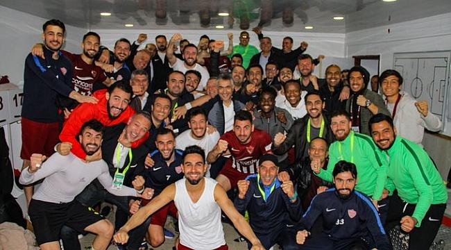 Hatayspor Osmanlıspor'u tek golle geçti
