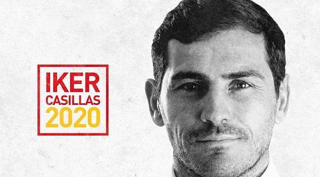 Iker Casillas İspanya Futbol Federasyonu Başkanlığı'na aday